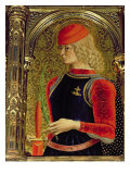 St. George, Detail from the Sant&#39;Emidio Polyptych, 1473 Giclee Print by Carlo Crivelli