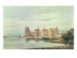 Caernarvon Castle Giclee Print by Thomas Girtin