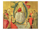 Ascension of the Virgin, 1465 Impresso gicle por Neri Di Bicci
