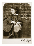Arthur Hughes, Jr, 12th October 1863 Giclee Print by Charles Lutwidge Dodgson