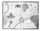 Map No.10 showing the route of the Armada fleet, engraved by Augustine Ryther, 1588 Giclee Print by Robert Adams