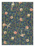 'Bird and Pomegranate' Wallpaper Design, printed by John Henry Dearle Giclee Print by William Morris