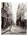 Rue Aumaire, from the Rue Volta, Paris, 1858-78 Giclee Print by Charles Marville