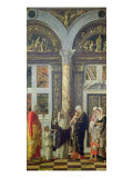 The Circumcision, Central Panel from the Altarpiece, c.1466 Giclee Print by Andrea Mantegna