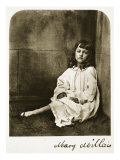Mary Millais, 21st July 1865 Giclee Print by Charles Lutwidge Dodgson