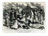 Women Bewailing the Garrison of Sinkat in the Streets of Suakim, The Rebellion in the Soudan, from  Giclee Print by Godefroy Durand