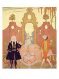 Billet Doux Giclee Print by Georges Barbier