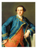 Portrait of Sir John Armytage Gicle-tryk af Pompeo Batoni