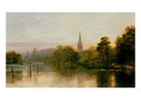 Great Marlow Giclee Print by George Vicat Cole