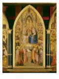 The Coronation of the Virgin, and Other Scenes, 1367 Giclee Print by Giusto Di Giovanni De' Menabuoi