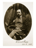 Dante Gabriel Rossetti, 6th October 1863 Giclee Print by Charles Lutwidge Dodgson