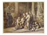 The Presentation of Christ in the Temple Giclee Print by Gerbrandt Van Den Eeckhout