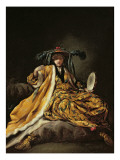 A Greek Sultana, 1748 Giclee Print by Jean Barbault