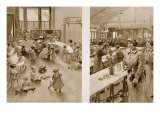 Day Nursery for the Babies of Munition Workers, 1914-19 Giclee Print by Samuel Begg