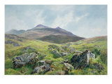 Landscape, Snowdon Giclee Print by Frederick William Hayes
