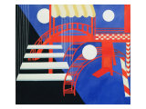 Stage Design Revue for the Edition Decors De Theatre, 1927 Giclee Print by Alexandra Exter