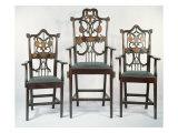 Three Georgian Masonic Chairs, c.1790 Giclee Print