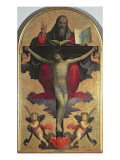The Holy Trinity Giclée-tryk af Mariotto Albertinelli