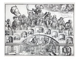 The Nine Ages of Man Giclee Print by Jorg Breu
