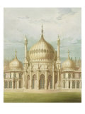 Exterior of the Saloon from Views of the Royal Pavilion, Brighton by John Nash, 1826 Giclee Print by John Nash