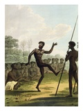 The Dance, Aborigines from New South Wales engraved by Matthew Dubourg Giclee Print by John Heaviside Clark