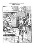 View of a Sixteenth Century Kitchen with Cook Gutting a Rabbit Giclee Print by Hans Baldung Grien