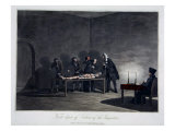 First Degree of Torture of Inquisition, engraved by L.C. Stadler Giclee Print