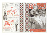 Advertisement for Maggi, late 19th century Giclee Print by Alphonse Mucha
