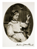 Madeline Catherine Parnell, 7th July 1864 Giclee Print by Charles Lutwidge Dodgson