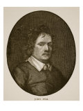 John Pym from a Miniature by Samuel Cooper Giclee Print by Samuel Cooper