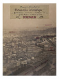 Aerial View of Paris, c.1868 Giclee Print by Paul Nadar