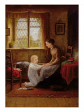 Bedtime, 1890 Giclee Print by Frederick Daniel Hardy
