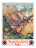 Yellowstone Park, 1934 Giclee Print by Thomas Moran