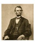 Portrait of Abraham Lincoln, 1861-65 Giclee Print by Mathew Brady & Studio