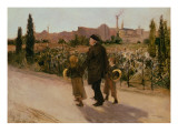All Souls' Day, c.1882 Giclee Print by Jules Bastien-Lepage