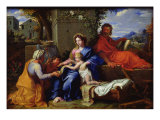 The Holy Family Giclee Print by Louis Licherie de Beuron