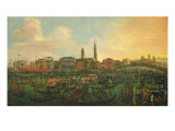 Regatta at Murano, 1648 Giclee Print by Joseph Heintz