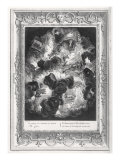 The Chaos, engraved by Bernard Picart Gicl&#233;e-Druck von Abraham Van Diepenbeck