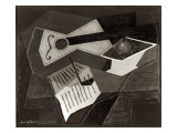 Guitar and Fruit Bowl, 1926 Giclee Print by Juan Gris