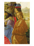 Detail of the Adoration of the Magi Giclee Print by Sandro Botticelli