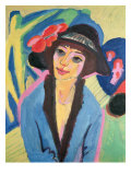 Portrait of Gerda Giclee Print by Ernst Ludwig Kirchner