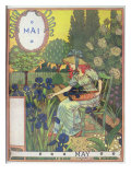 May Giclee Print by Eugene Grasset