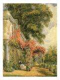 Garden Front of Mr. Robert Vernon's House at Twickenham Giclee Print by John James Chalon