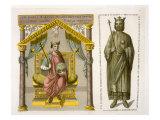 HRE Charles II Giclee Print by D.k. Bonatti