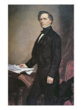 Franklin Pierce Reproduction procédé giclée par George Peter Alexander Healy