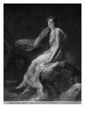 Madame Recamier Giclee Print by Alexandre Evariste Fragonard