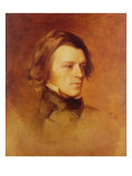 Portrait of Alfred Lord Tennyson Giclee Print by Samuel Laurence
