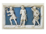 The Flagellation of Christ, 1495 Giclee Print by Andrea Della Robbia