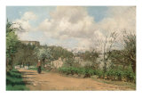View from Louveciennes, 1869-70 Giclee Print by Camille Pissarro