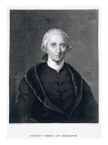 Charles Carroll of Carrollton, engraved by Asher Brown Durand Giclee Print by Chester Harding